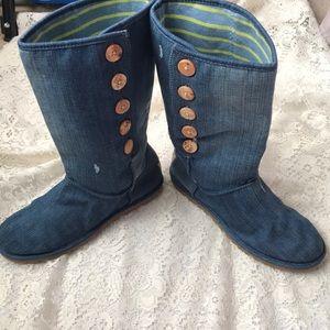 UGG denim boots